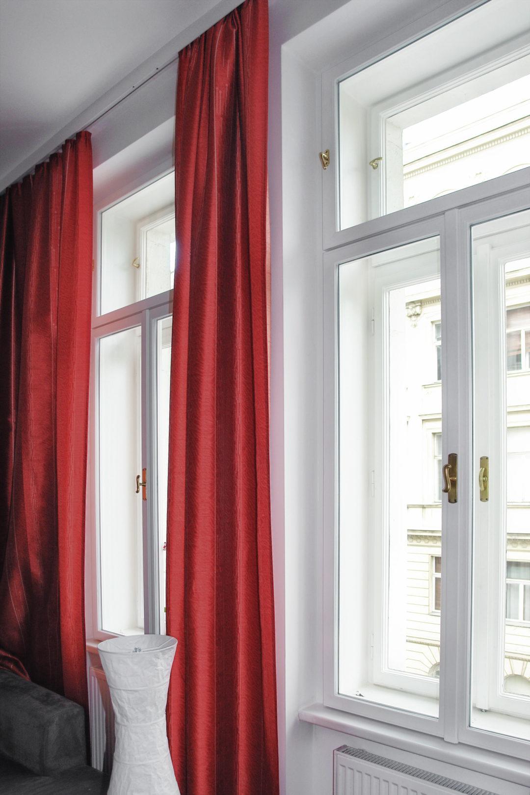 WienerKomfortFenster - saniertes Kastenfenster in Wohnraum