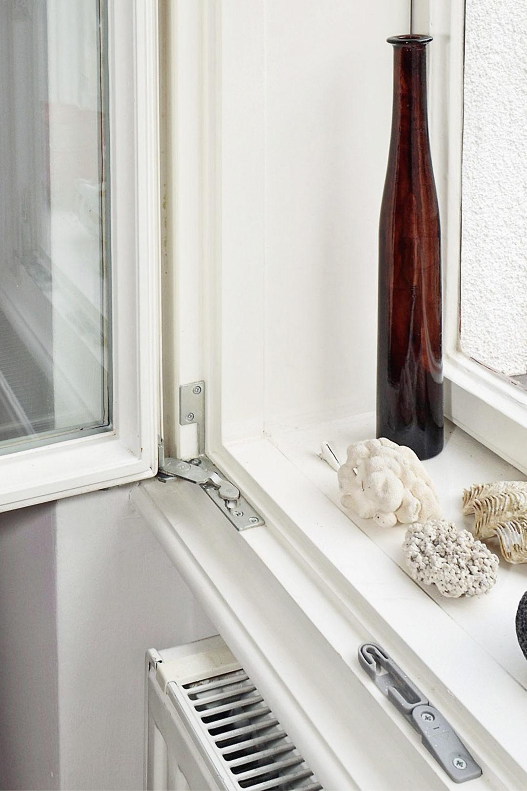 WienerKomfortFenster - Detailfoto eines sanieren Kastenfensters