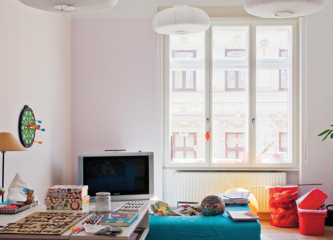 WienerKomfortFenster Modell Modern im Kinderzimmer